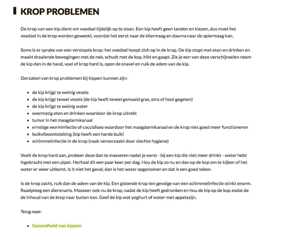 Kropploblemen, www.LevendeHave.nl