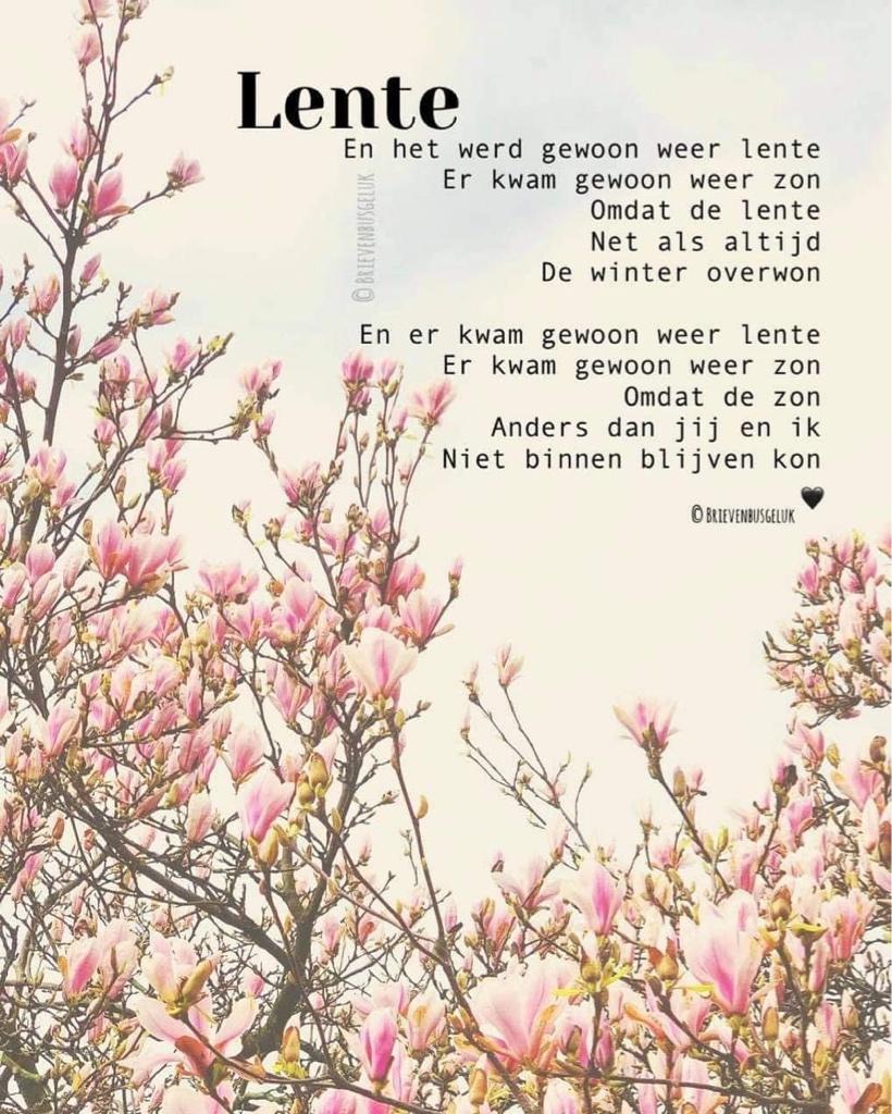 230a. gedicht lente